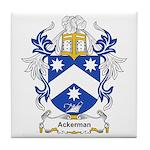 Ackerman Coat of Arms, Family Tile Coaster