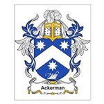 Ackerman Coat of Arms, Family Small Poster