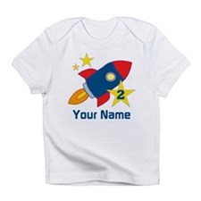 2nd Birthday Rocket Infant T-Shirt