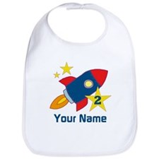 2nd Birthday Rocket Bib