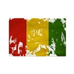 Guinea Flag Rectangle Magnet