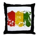 Guinea Flag Throw Pillow