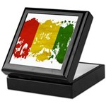 Guinea Flag Keepsake Box