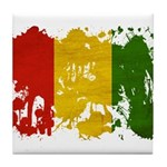 Guinea Flag Tile Coaster