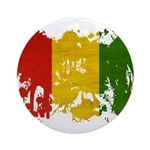 Guinea Flag Ornament (Round)