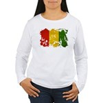 Guinea Flag Women's Long Sleeve T-Shirt