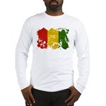 Guinea Flag Long Sleeve T-Shirt