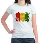 Guinea Flag Jr. Ringer T-Shirt