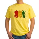 Guinea Flag Yellow T-Shirt