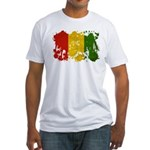 Guinea Flag Fitted T-Shirt