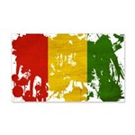 Guinea Flag 22x14 Wall Peel