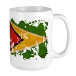 Guyana Flag Large Mug