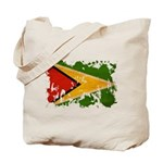 Guyana Flag Tote Bag