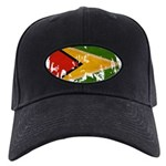 Guyana Flag Black Cap