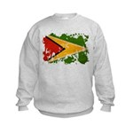 Guyana Flag Kids Sweatshirt