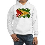 Guyana Flag Hooded Sweatshirt