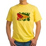 Guyana Flag Yellow T-Shirt