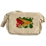 Guyana Flag Messenger Bag