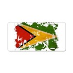 Guyana Flag Aluminum License Plate
