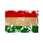 Hungary Flag Rectangle Magnet (100 pack)