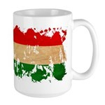 Hungary Flag Large Mug