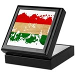 Hungary Flag Keepsake Box