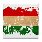 Hungary Flag Tile Coaster