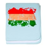 Hungary Flag baby blanket