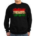 Hungary Flag Sweatshirt (dark)