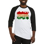 Hungary Flag Baseball Jersey