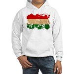 Hungary Flag Hooded Sweatshirt