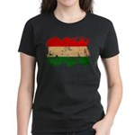 Hungary Flag Women's Dark T-Shirt