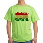 Hungary Flag Green T-Shirt