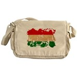 Hungary Flag Messenger Bag