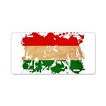 Hungary Flag Aluminum License Plate