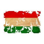 Hungary Flag 38.5 x 24.5 Wall Peel