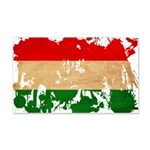 Hungary Flag 22x14 Wall Peel