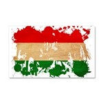 Hungary Flag Car Magnet 20 x 12