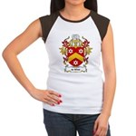 de Wilde Coat of Arms Women's Cap Sleeve T-Shirt