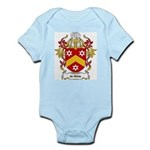de Wilde Coat of Arms Infant Creeper