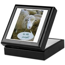 Go Felt Yourself Keepsake Box