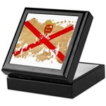 Jersey Flag Keepsake Box