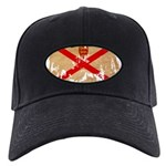 Jersey Flag Black Cap