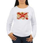 Jersey Flag Women's Long Sleeve T-Shirt