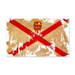Jersey Flag 22x14 Wall Peel