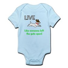 Live the gates open Infant Bodysuit