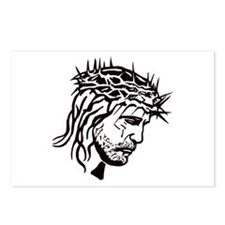 Jesus Face Postcards (Package of 8)