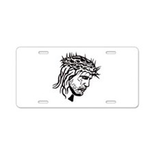 Jesus Face Aluminum License Plate