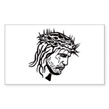 Jesus Face Decal