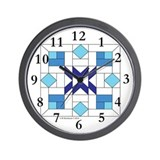 Posy Plot Wall Clock